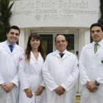 Equipe médica da clínica BedMed